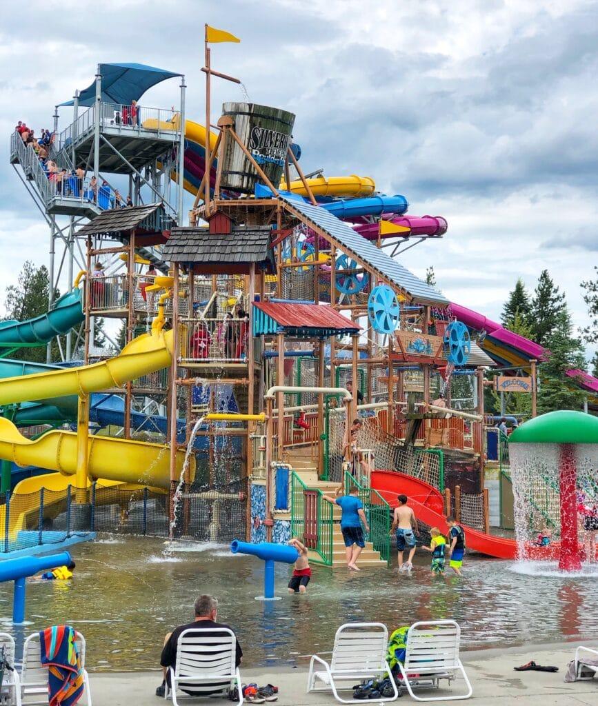 Silverwood Boulder Beach waterpark Kids area