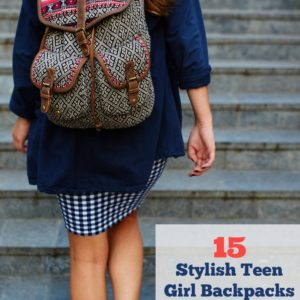 Back to School Backpacks for Teen Girls - 15 Stylish Backpacks under $30