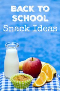 Check out these Back to School Snack Ideas that kids will love!