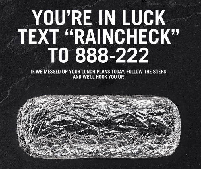 Chipotle Coupon