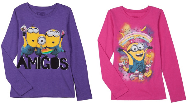 Despicable Me Girls' Graphic Tees