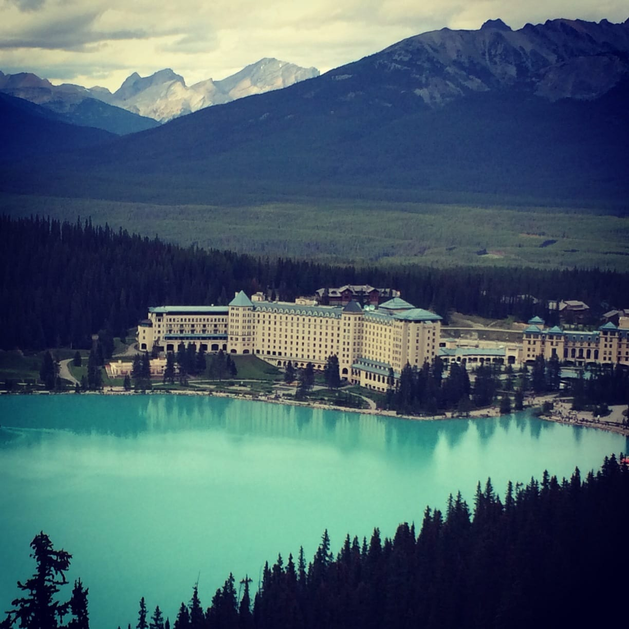 How to Use Trover - picture shared on Trover of Lake Louise