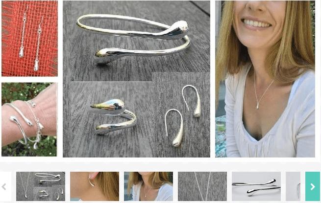 Modern Drop Sterling Jewelry