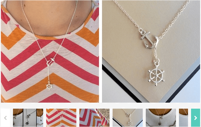 Nautical Themed Necklace $2.99!