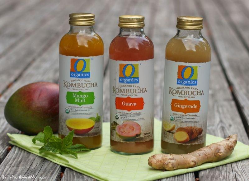 New O Organics Kombucha Drinks at Safeway – Affordable Option with 6 Flavors #OOrganicsKombucha