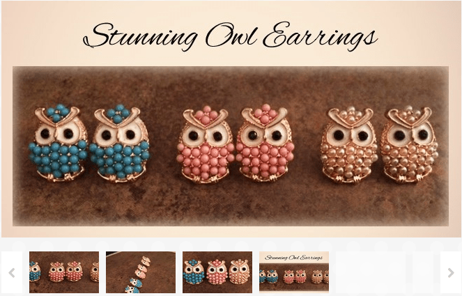 Owl Earrings $2.49 Three Different Colors Available!