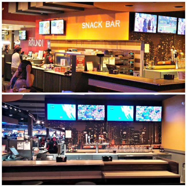 Round 1 Snack Bar