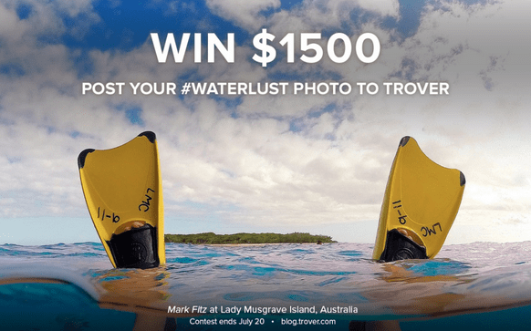 Trover Waterlust Photo Challenge Giveaway