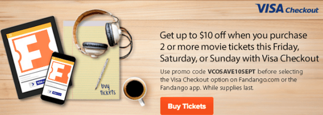 Fandango Movie Ticket Deal