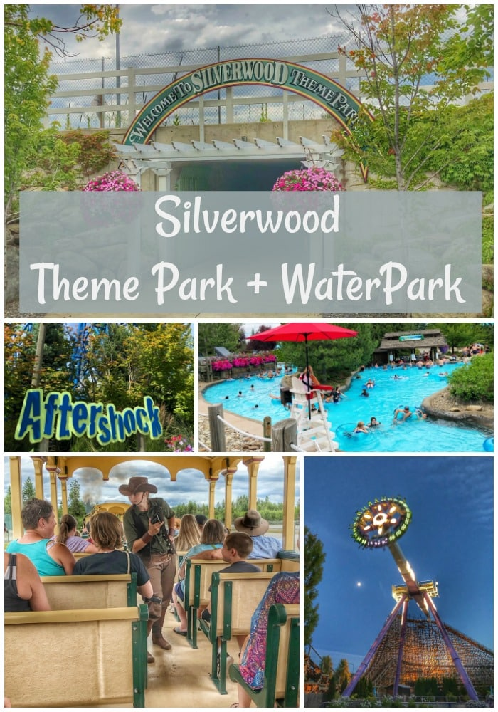 Silverwood Theme Park & Water Park in Couer d'Alene Idaho