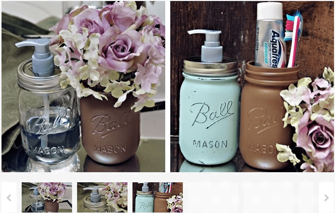 Soap or Lotion Pump Top for Mason Jars