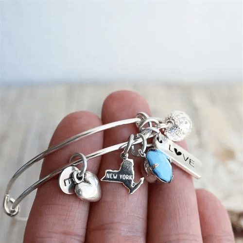 State Charm Bangles $6.99 + Free Shipping!