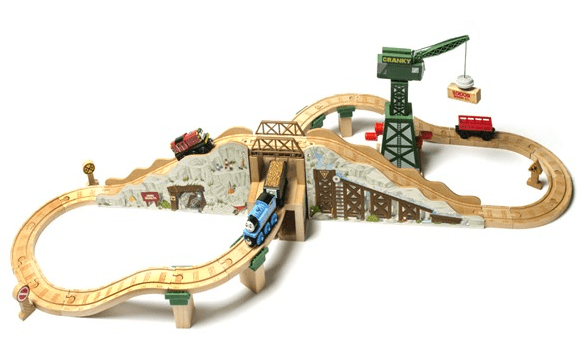 Thomas & Friends Gold Mine Mountain Wooden Railway