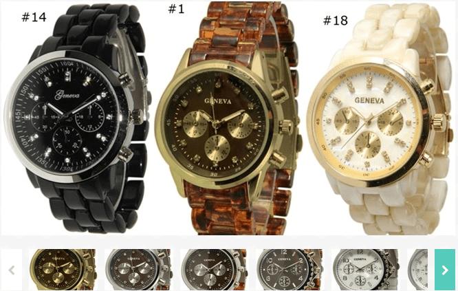 Tortoise Watches $4.99!
