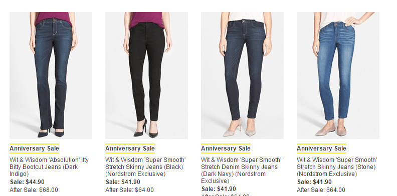 Wit and Wisdom Jeans Sale