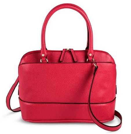 Women's Dome Satchel Handbag $15.73!