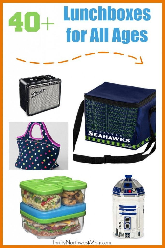 Kids Lunch Boxes, including Bento Boxes