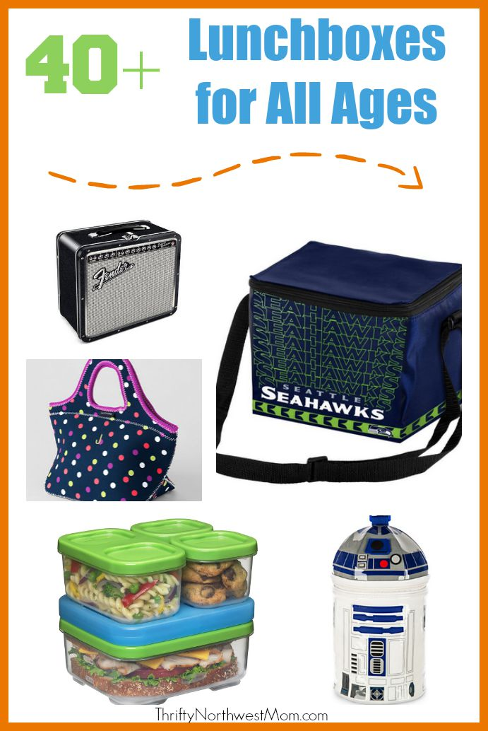 40 + Lunchboxes for All Ages
