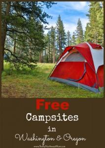 Free Campsites in Washington & Oregon
