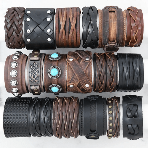 Leather Wrap Bracelets $8.99 With Free Shipping!