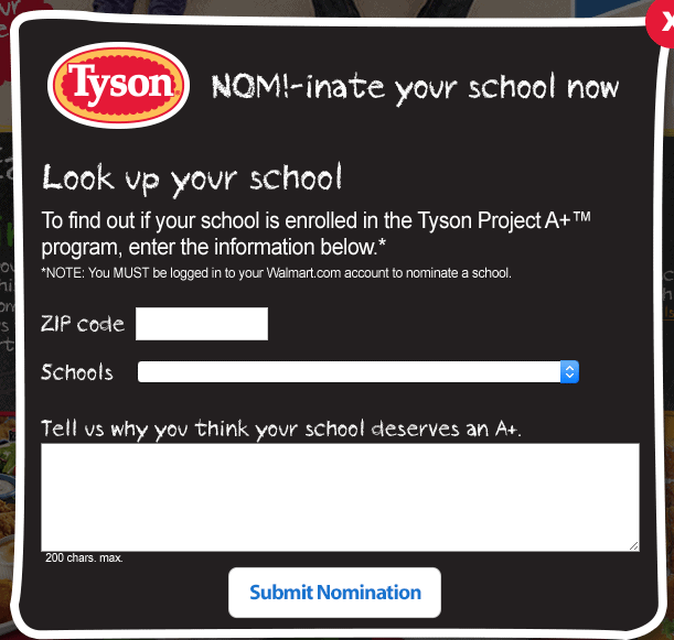 Nominate School for $1000 in labels