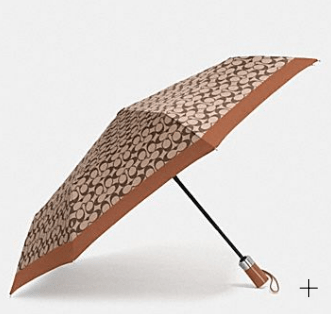 Coach Signature Umbrella