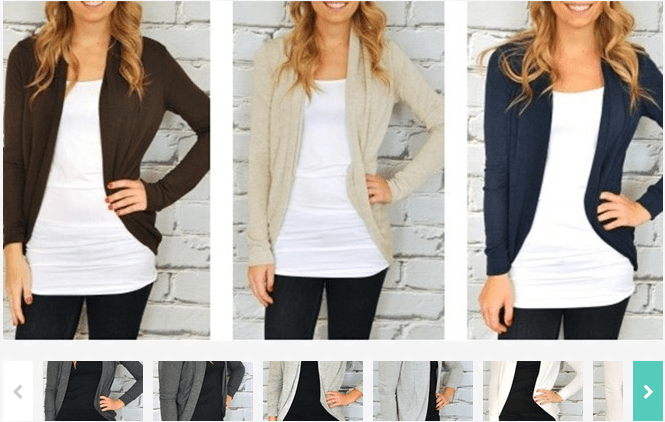 Sweater Shrug In Seven Colors