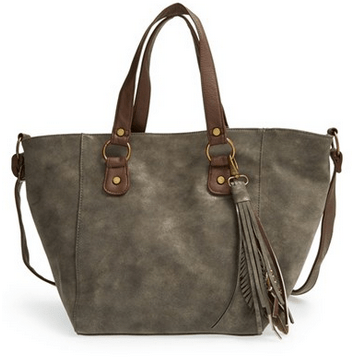 T-Shirt & Jeans Shimmer Down Faux Leather Tote $21.98 Shipped!