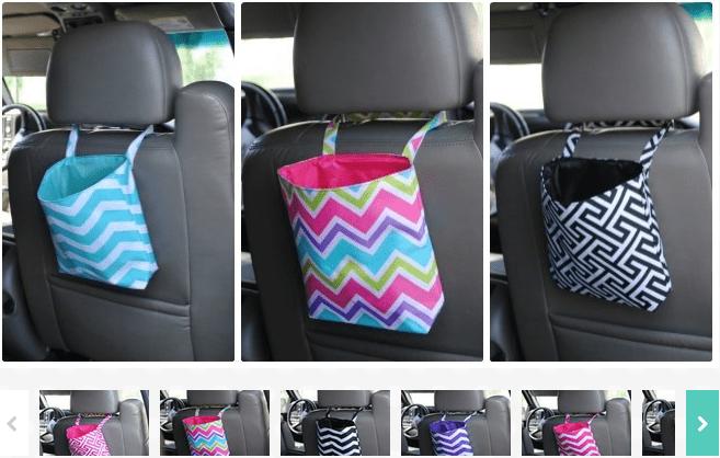Trendy Trash Bag / Bin / Toys Totes For The Car $6.99!