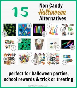 15 Non Candy Halloween Alternatives