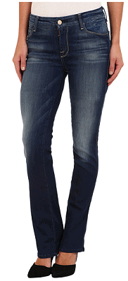 7 For All Mankind The Skinny Bootcut in Ultra Siren Blue