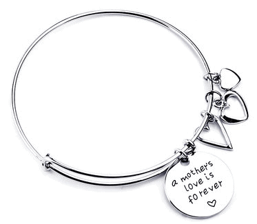 A Mother's Love Is Forever Bangle