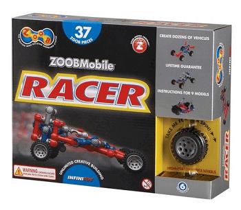 Alex Brands ZOOB 0Z12051 ZOOB Racer Construction Building Set