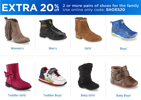 Boot & Shoe Sale at Sears