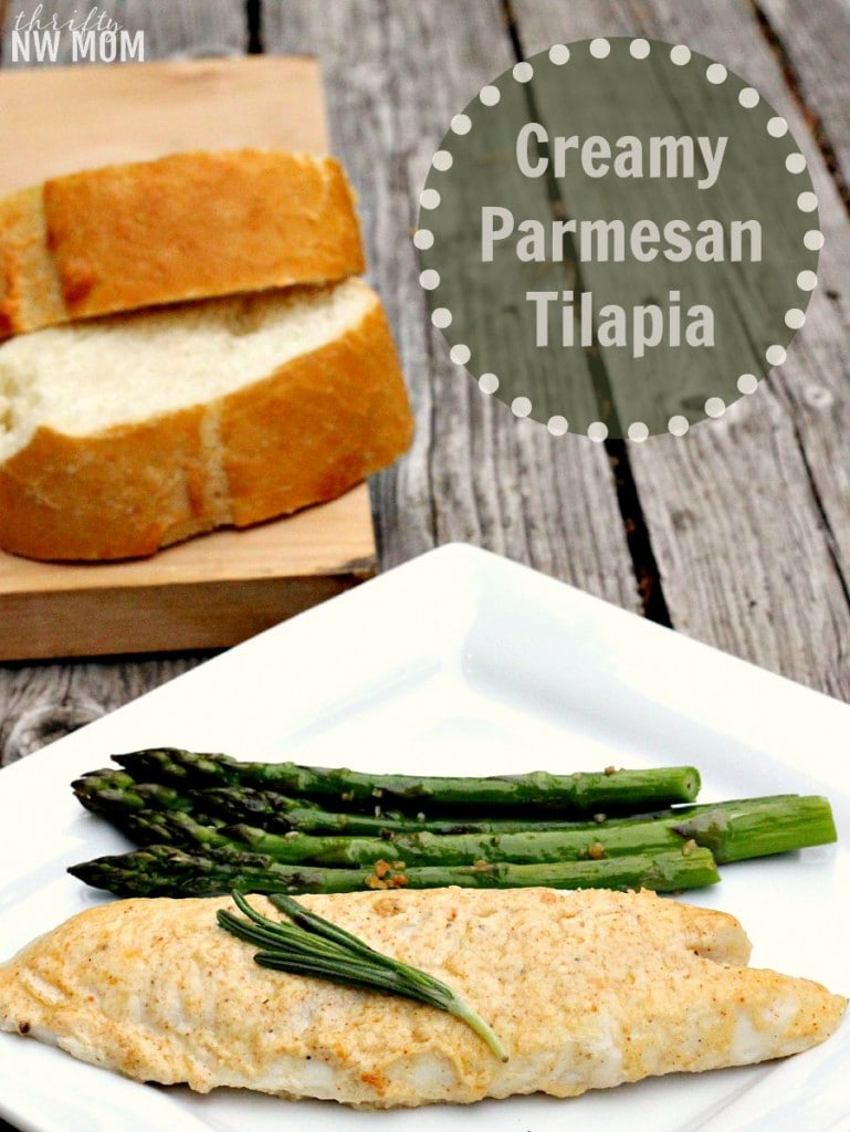 Creamy Parmesan Tilapia Using Spices from RawSpiceBar – Monthly Subscription Service with Fresh Spices