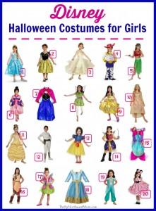 Disney Halloween Costumes for Girls