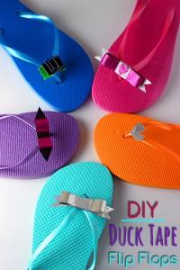 DuckTape-Flip-Flops