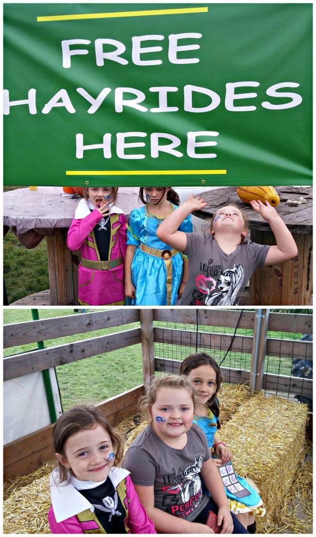 Free Hay Rides
