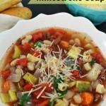 Minestrone Soup Recipe (Olive Garden Copycat Recipe) – Make it in the Slow Cooker!