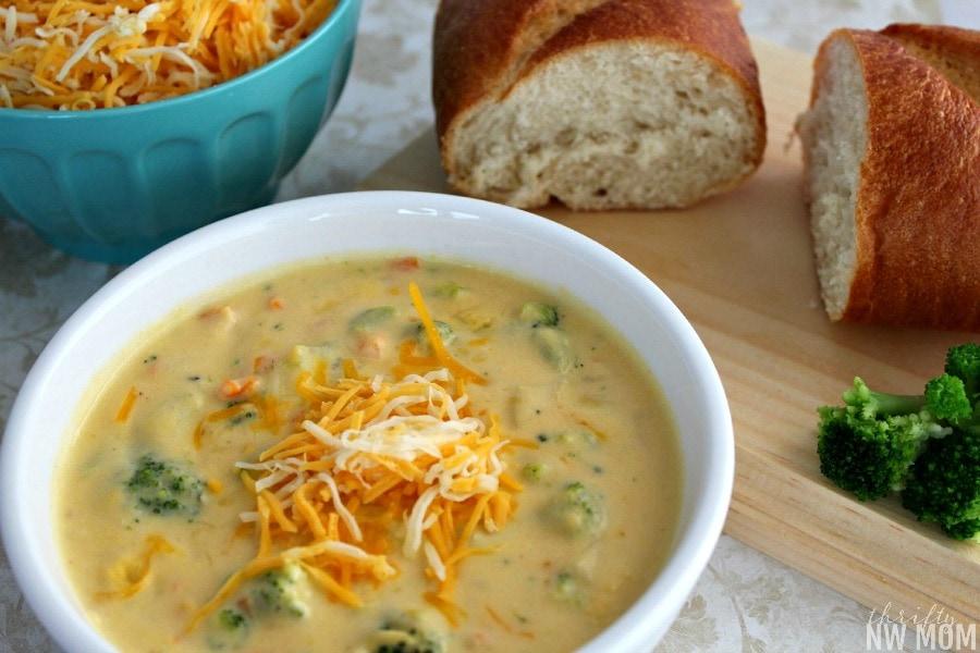 Broccoli Cheese Soup RecipePanera Bread Copycat Recipe