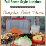 Pumpkin Patch Bento Lunch Box Idea – Creative Idea for Fall Lunches!
