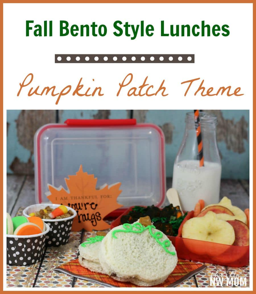 Pumpkin Patch Bento Lunch Idea