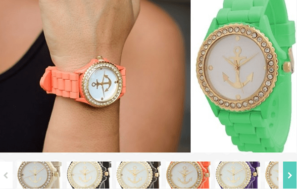 Silicone Watch With Anchor $5.99!