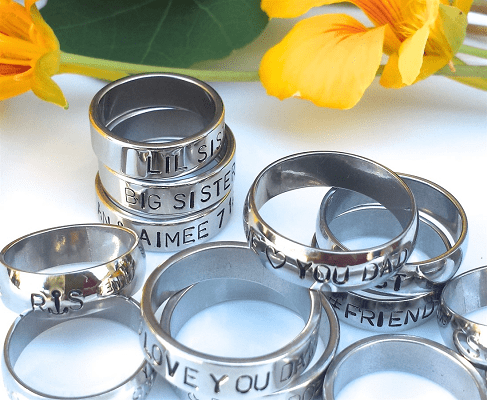 Stackable Stainless Steel Ring