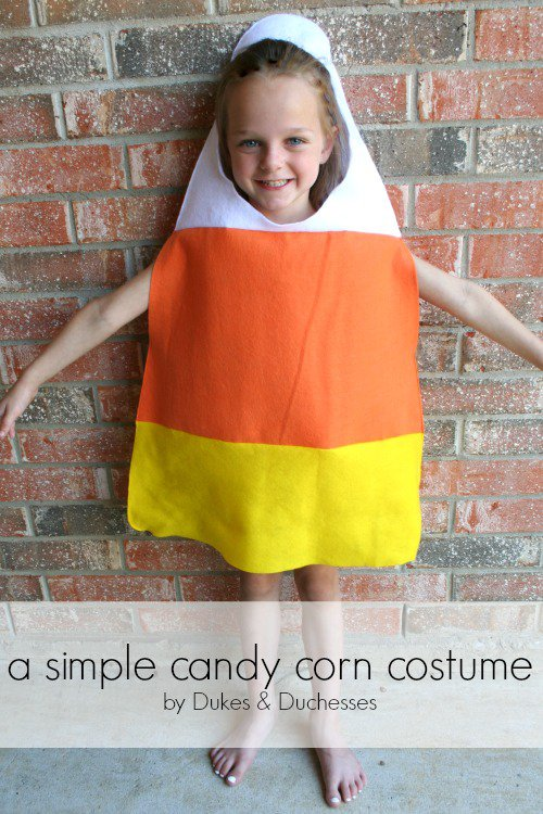 a-simple-candy-corn-costume  sc 1 st  Thrifty NW Mom & DIY Kids Halloween Costumes