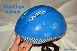 duct tape helmet
