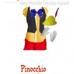 DIY Pinnochio Costume – Using Clothes You Can Wear Again!