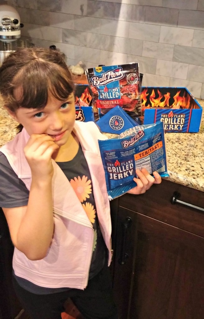 Ball Park Flame Grilled Jerky #ToughAndTender – Great On-The-Go Snack Option!