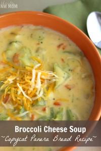 Broccoli Cheese Soup Copycat Panera Bread Recipe