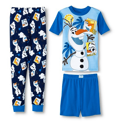 Disney Frozen Boys' 3-Piece Mix & Match Pajama Set